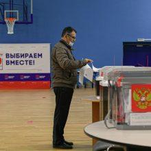 """""""Rostelekom"""" sako, kad rinkimai Rusijoje tapo kibernetinių atakų taikiniu"""