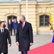 Prezidentas: reikėtų paanalizuoti lietuvių skepsį dėl Ukrainos eurointegracijos