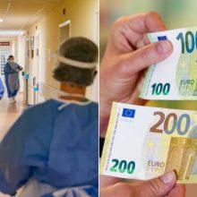 Per pandemiją medikų algas reikia kelti, bet biudžete pinigų nenumatyta?
