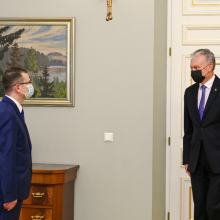 G. Nausėda susilaiko nuo A. Dulkio vertinimo: nenoriu įsirašyti į kritikų chorą