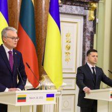 G. Nausėda žada siekti stipresnių sankcijų Rusijai dėl konflikto Ukrainoje
