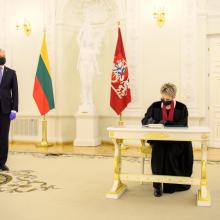 Prezidentas teikia generalinei prokurorei tvirtinti prokurorų komisijų narius