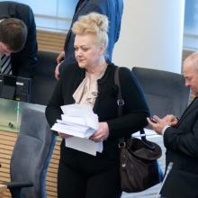 Bus tyrimas dėl I. Rozovos: paaiškėjo, ką Seimo narė nuslėpė