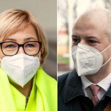 Etikos sargai tirs ministrų J. Šiugždinienės ir S. Gentvilo elgesį
