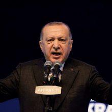 """Turkijos prezidentas pavadino Izraelį """"teroristine valstybe"""""""