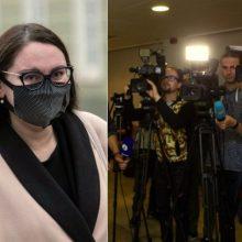 Ministrė: turime sustiprinti žurnalistų apsaugą nuo persekiojimo už kritiką