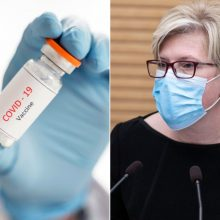 Premjerė apie skiepijimo planus: pirmiausia reikia turėti vakcinos