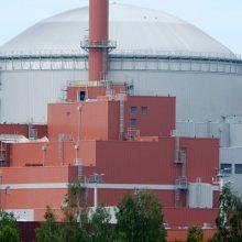 Suomijos AE užfiksuotas incidentas: Lietuvoje radiacinis fonas nepakitęs