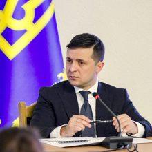 Ukraina patvirtino sankcijas nuversto režimo nariams ir separatistams