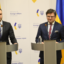 G. Landsbergis ragina tarptautinę bendruomenę tęsti politinį spaudimą Rusijai