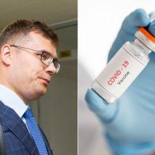 L. Kasčiūnas: bus imtasi visų saugumo priemonių dėl vakcinos