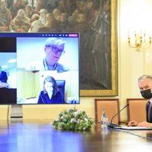 G. Nausėda su I. Šimonyte aptars pandemijos valdymą, kitų metų biudžetą
