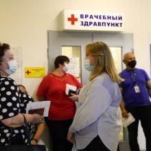 Rusijoje – COVID-19 atvejų šuolis: plinta delta atmaina, bet žmonės vengia skiepytis