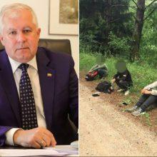 Ministras: sulaikoma per 90 proc. į Lietuvą bandančių patekti migrantų