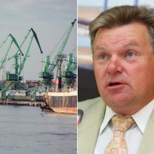 Ministras su Klaipėdos uosto atstovais aptars taršos problemas