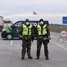 Latvijos sieną saugantys pasieniečiai: psichologiškai buvo sunku