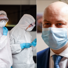 A. Veryga apdovanos medikus už darbą suvaldant koronaviruso plitimą