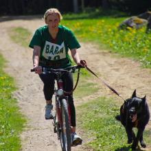 Orientaciniame biatlone su šunimis pasieniečių kinologai pelnė medalius