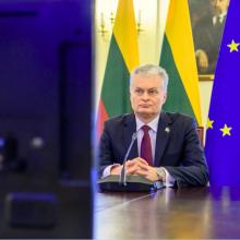 G. Nausėda: ES turi skubiai reaguoti į pažeidimus Rusijoje