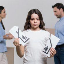 Kuo gali padėti vaiko teisių gynėjas, kai skiriasi pora, turinti vaikų?