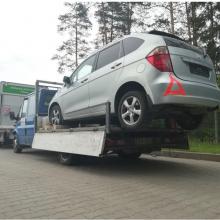 Pasieniečiai sulaikė du kirgizus su suklastotais mašinų dokumentais