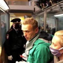 A. Navalno štabas Vladivostoke pranešė apie koordinatorės sulaikymą