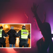 Per karantiną – trankus šimtadienis: abiturientų linksmybes nutraukė policija