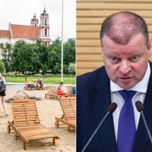 S. Skvernelis: Lukiškių aikštės tvarkymą turėtų perimti valstybė