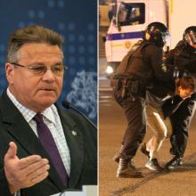 L. Linkevičius: ES turi padėti represijų aukoms Baltarusijoje