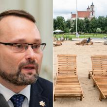 Ministras: suderinus pozicijas, Lukiškių aikštė lieka savivaldybei