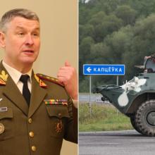 V. Rupšys: Lietuvos pasienyje baltarusių karinis aktyvumas išlieka