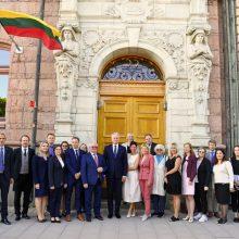 G. Nausėda tęsia vizitą Švedijoje: susitiks su karaliumi Karlu XVI Gustavu