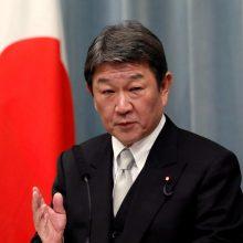 Lietuvoje liepą lankysis Japonijos užsienio reikalų ministras