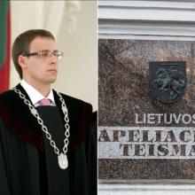M. Bajoras paskirtas Apeliacinio teismo Civilinių bylų skyriaus pirmininku