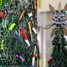 Vilniaus oro uosto eglutė iš konfiskuotų daiktų apskriejo pasaulio žiniasklaidą