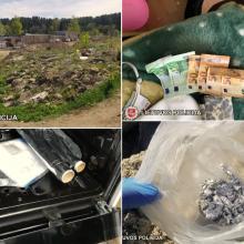 Taborą lygina su žeme, bet prekyba narkotikais klesti
