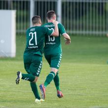 """""""Kauno Žalgirio"""" futbolininkai įveikė """"Riterius"""""""