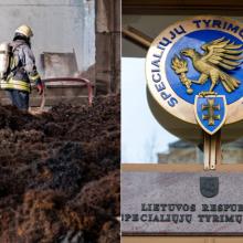 Po gaisro Alytaus padangų gamykloje savo vertinimą atliko ir STT