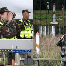 Trūksta sienos saugotojų: kviečia tapti pasieniečiais per keturias savaites