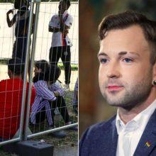 T. V. Raskevičius sprendimą dėl migrantų apgręžimo vadina savalaikiu