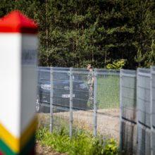 """""""Valstiečiai"""" žada nepritarti valdančiųjų parengtam tvoros projektui pasienyje"""