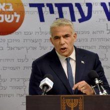 Y. Lapidas paskelbė suformavęs būsimą naują Izraelio valdančiąją koaliciją