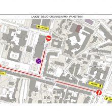 Per G. Nausėdos inauguraciją – dideli eismo ribojimai Vilniaus centre