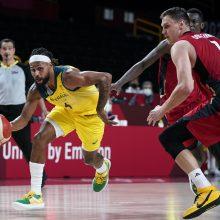 Olimpiniame krepšinio turnyre australai žengia be pralaimėjimų