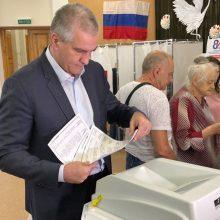 Lietuva nepripažįsta Rusijos surengtų vietos valdžios rinkimų Kryme