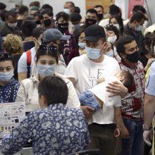 Lietuva skyrė 10 tūkst. eurų Uzbekistanui kovojant su koronavirusu