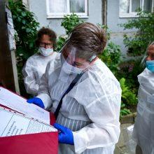 Rusijoje koronaviruso aukų skaičius viršijo 10 tūkst.