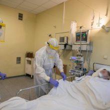 Ligoninėse šiuo metu gydomi 907 COVID-19 pacientai, iš jų 80 – reanimacijoje
