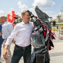 Vilniečius sportuoti kviečia atnaujintas Baltojo tilto aikštynas