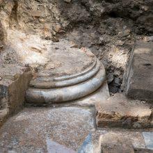 Vilniaus Didžiosios sinagogos teritorijoje – nauji archeologų atradimai